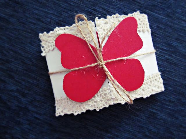 Snow White in Wonderland | Fashion and Style Blog: DIY Butterfly Card