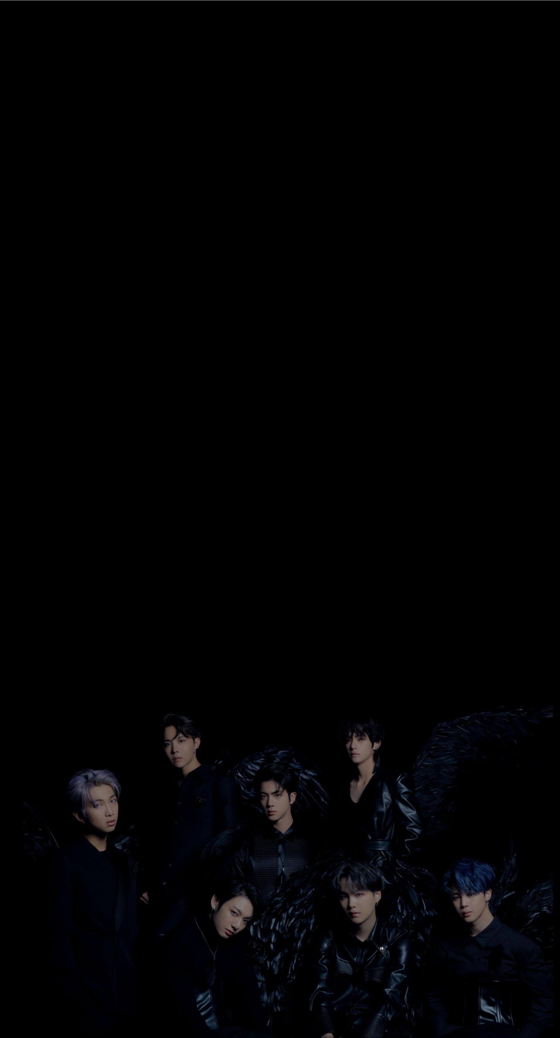 Bts Black Swan Bts Wallpaper Bts Lockscreen Bts Concept Photo Bts wallpaper with black background