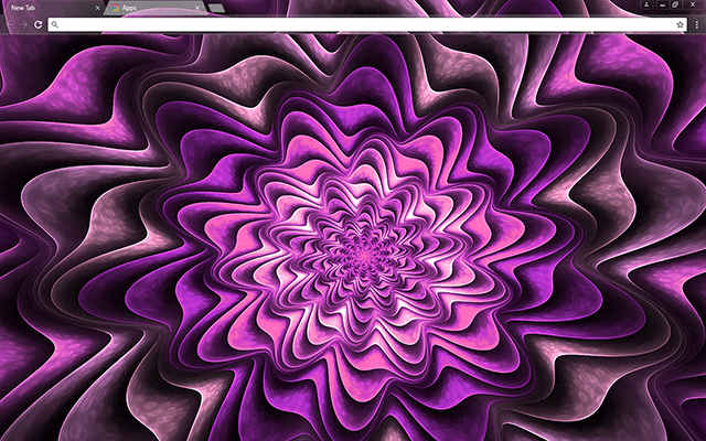 Fractal Purple Google Chrome Theme Chrome web, Google