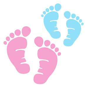 These Adorable Little Feet Are Perfect For All Things New Baby First Steps And Milestone Moments Baby Feet Tattoos Baby Clip Art Baby Feet