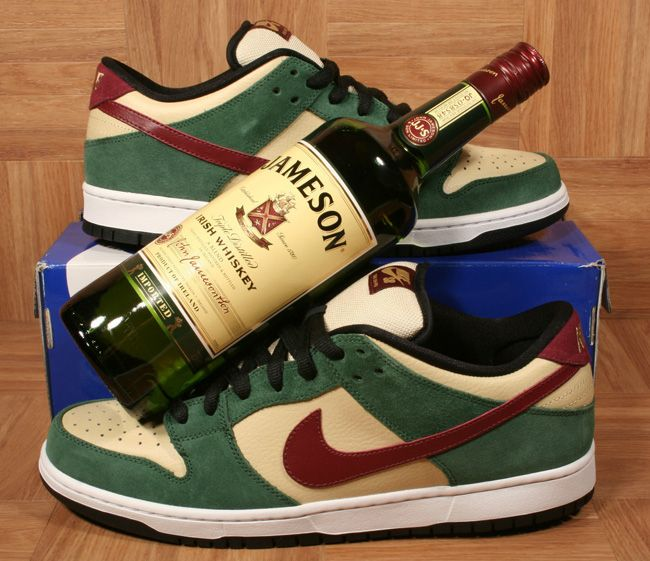 11 Nike SB Sneakers Inspired by Beer & Liquor