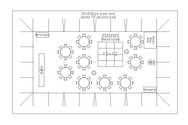 tent layout for wedding reception with 75 guests in bellingham Party Tent Idea tent layout for wedding reception with 75 guests in bellingham \u203a pacific party canopies