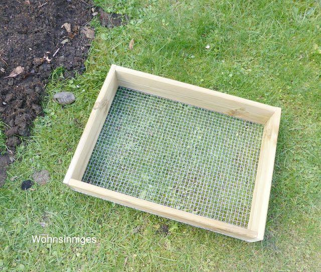 Wohnsinniges Kompostsieb Diy Kompost Sieb Kompost Garten