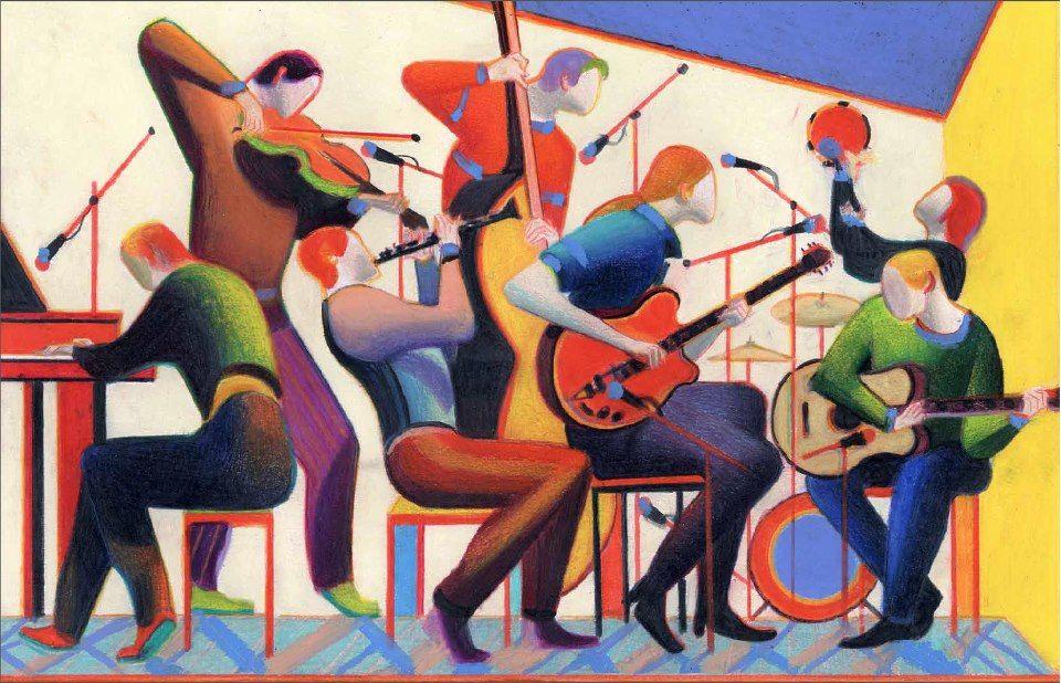 """Couverture pour le CD de René Aubry """"Play Time"""" (2010)"""