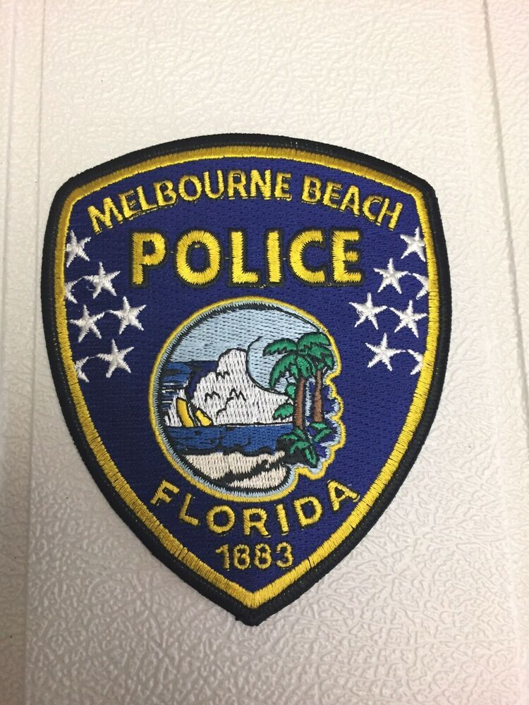 Melbourne Beach Police Department Patch Melbourne Beach Ormond Beach Florida Police Department