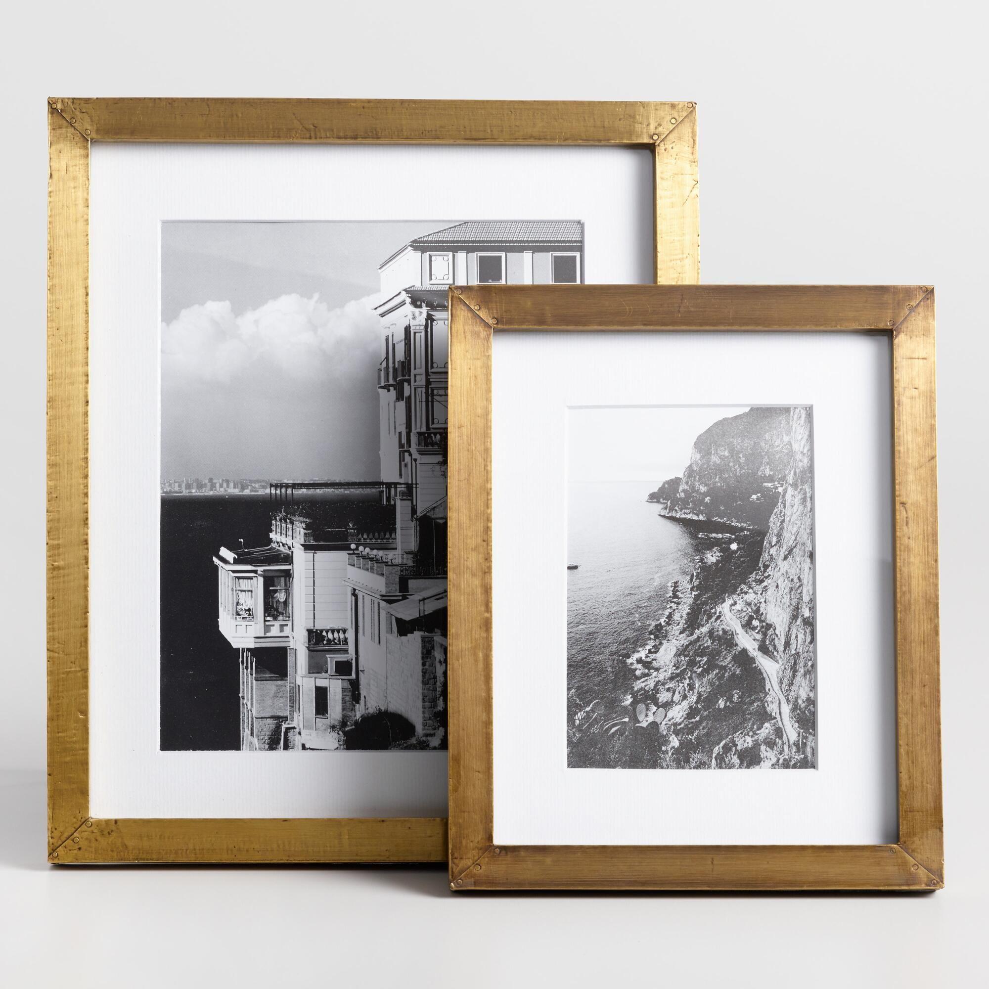 Antique Brass Metal Clad Frame - 5\