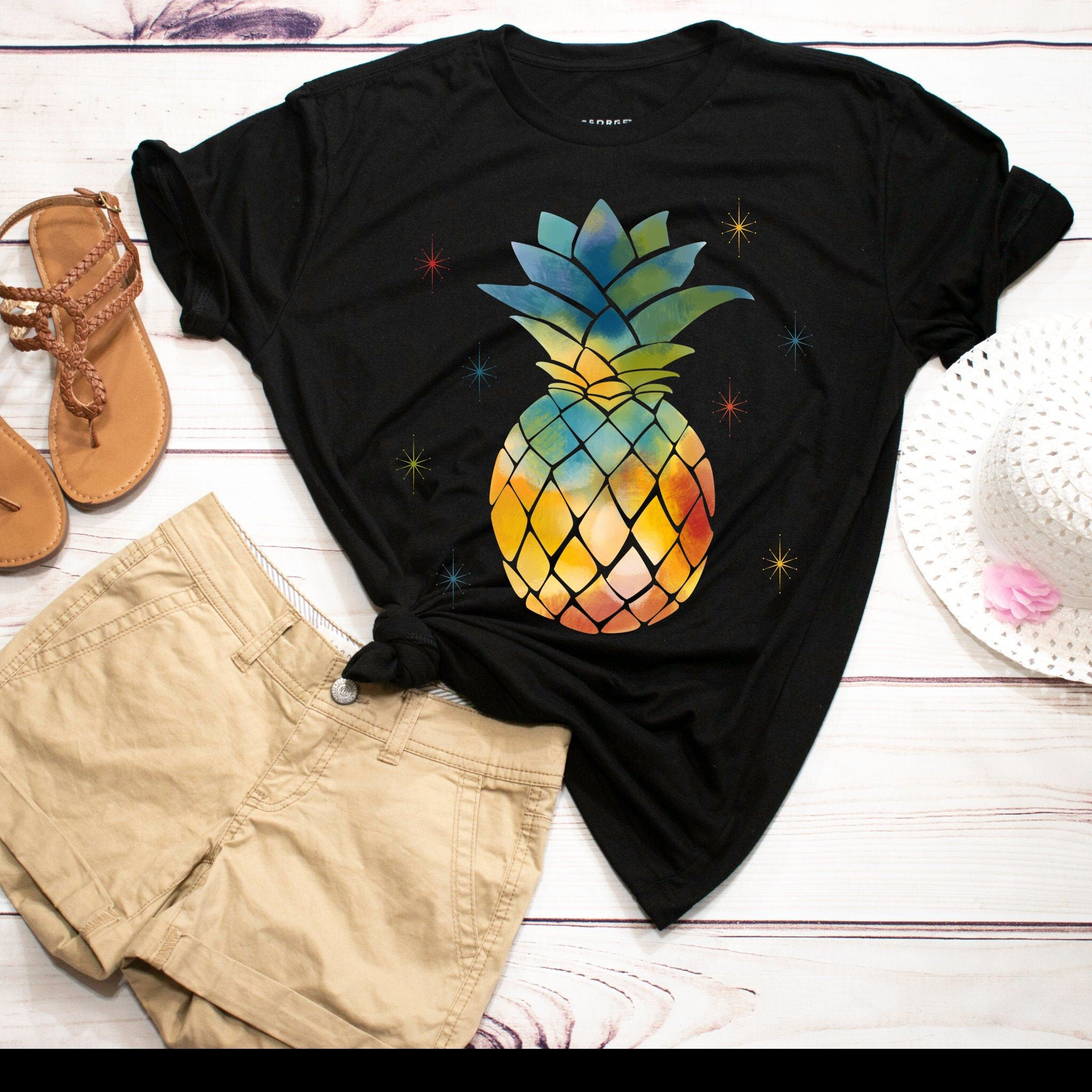 Excited to share this item from my #etsy shop: Pineapple Flower Shirt, Pineapple Shirt, Pineapple Gifts, Pineapple Lover, Aloha Beaches, Hawaii Party, Pineapple Tee Tank Top Hoodie #black #rainbow #pineappleshirt #pineapplelover #alohabeaches #hawaiiparty #pineappletee #pineappletshirt #pineapplegifts