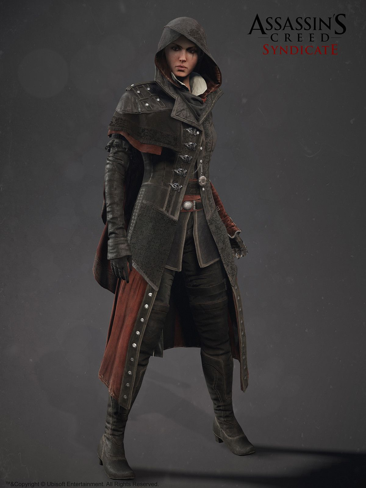 Assassin S Creed Syndicate Evie Frye Alexis Belley Assassins Creed Syndicate Evie Assassins Creed Outfit Assassins Creed Cosplay