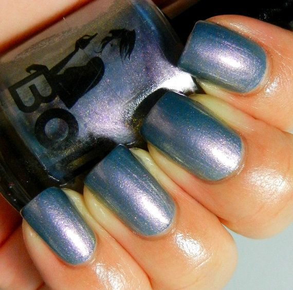 Boii Nail polish Lost In The Audience by BoysNailpolish on Etsy, $6.99