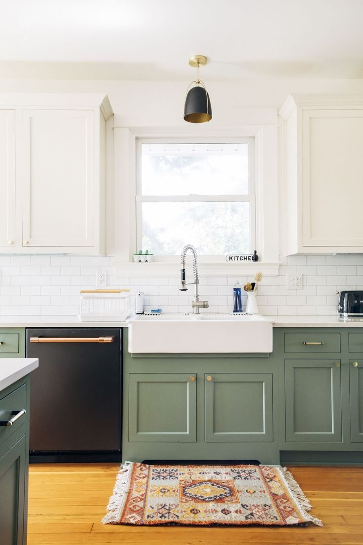 behind the scenes clean up in 2020 kitchen cabinets color combination green kitchen on kitchen cabinets color combination id=40302
