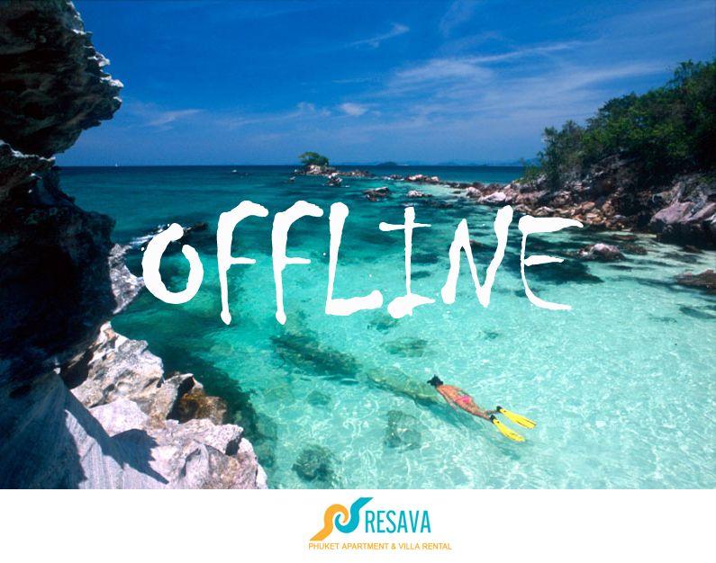 offline, holiday mode, phuket, thailand | Phuket, Holiday ...