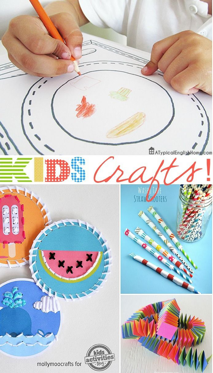 Kids Crafts And Activities The 36th Avenue Podelki Idei