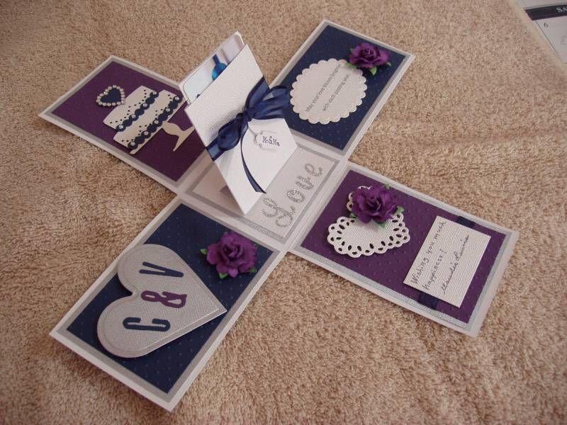 Christine van wedding inside by xcessstamps cards