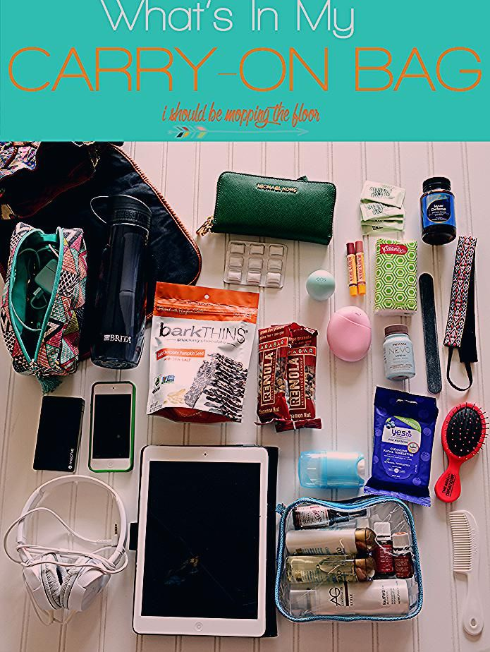 What I Pack Inside My Carry-On Bag