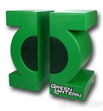 Green Lantern Movie Symbol Book Ends Stuff I Want Pinterest