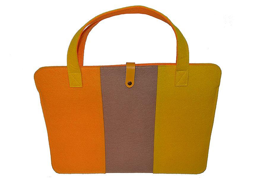 Filc laptop-táska sárga  a84fdc7a3d