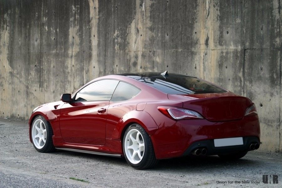 Unr Performance Side Lip Side Skirts For Hyundai Genesis Coupe Bk1 Bk2 Hyundai Genesis Hyundai Genesis Coupe Coupe