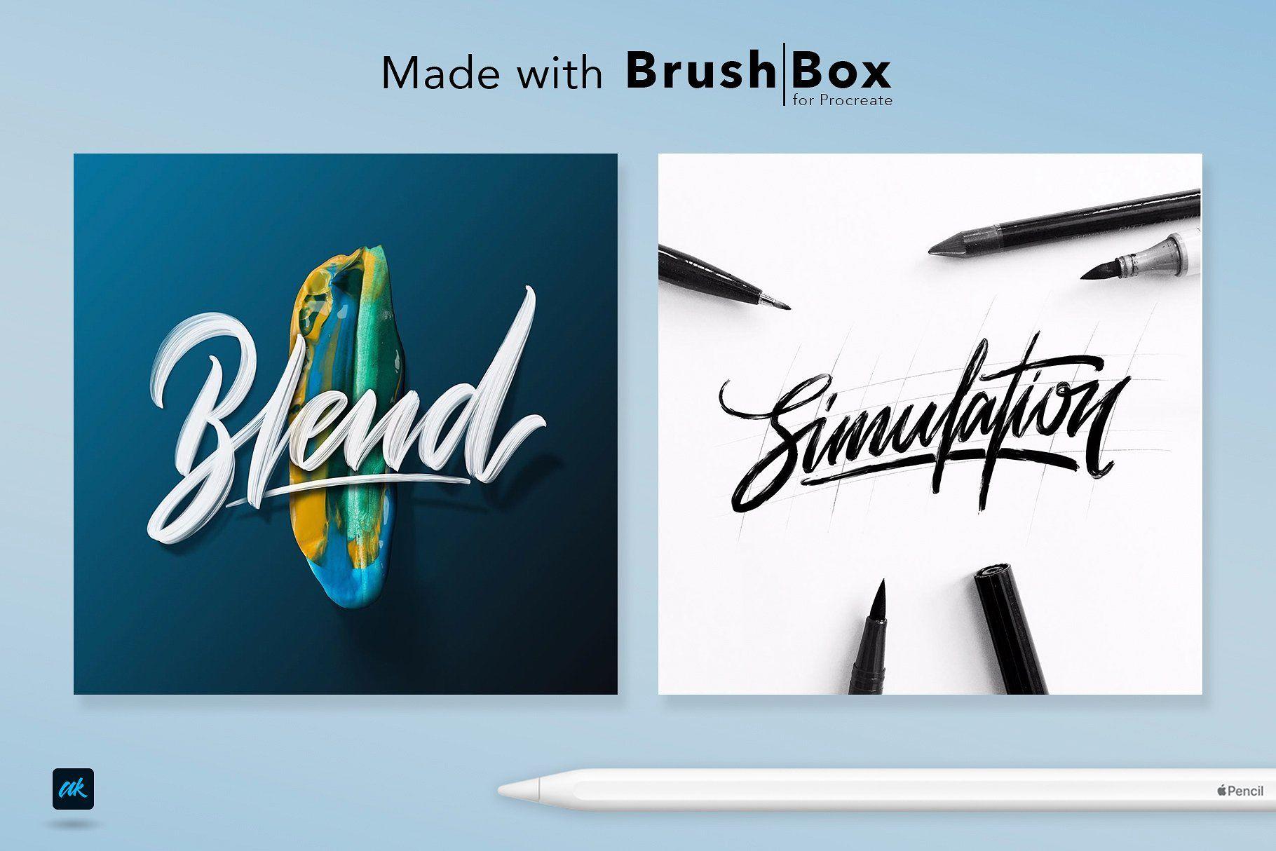 Brush Box for Procreate Procreate app, Procreate, Brush