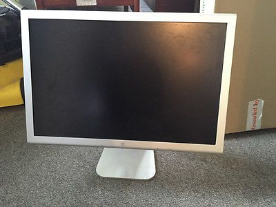 """Apple  #cinema #cinema #display 20""""  #widescreen lcd tft monitor,  View more on the LINK: http://www.zeppy.io/product/gb/2/281932184548/"""