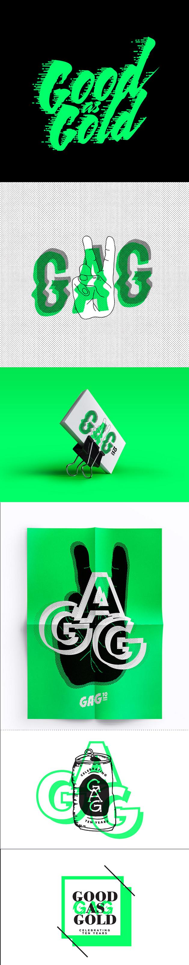 gag, design, branding. identity, graphic design, business card ...