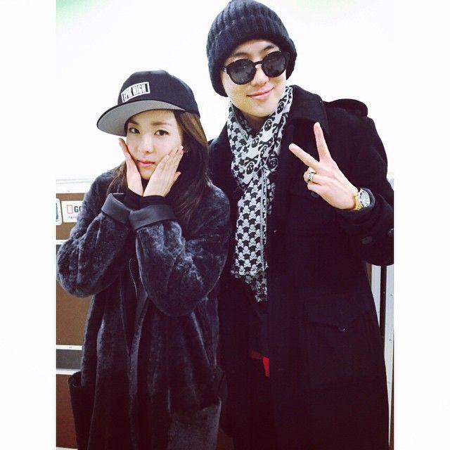 Dara with Seungyoon