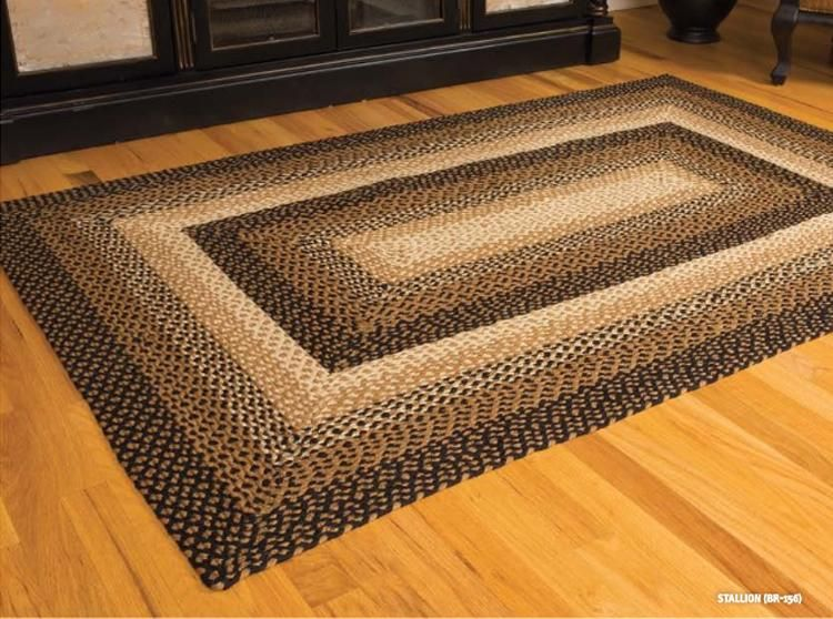 Details About Ihf India Country Primitive Braided Oval Jute Rug Cappuccino Brown Tan Black Braided Area Rugs Rugs Area Rugs For Sale