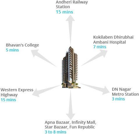Acme Stadium View Andheri West Mumbai Price List Floor Plan Location Map Site Layout Review Call Arun 919560 Metro Station Railway Station Dhirubhai Ambani