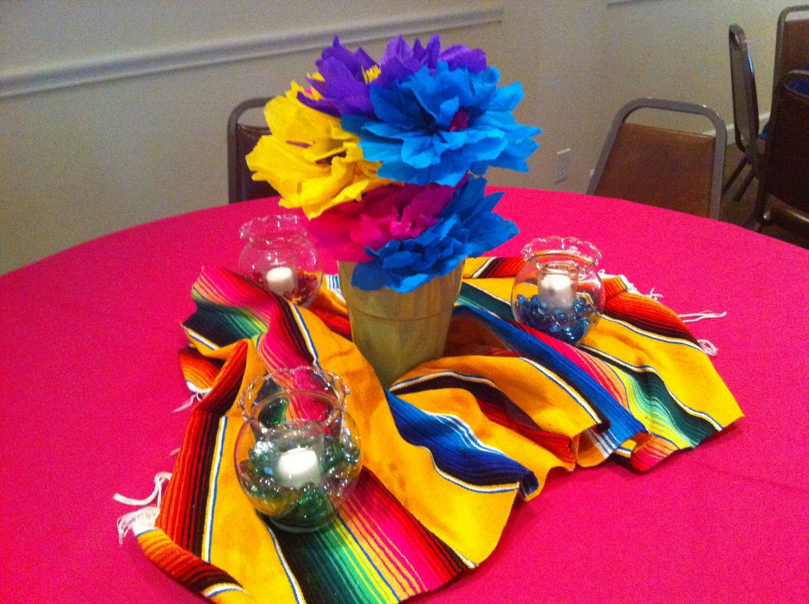 Mexican fiesta party decorating ideas hosting guide - The Posh Pixie Mexican Party Table Decorations