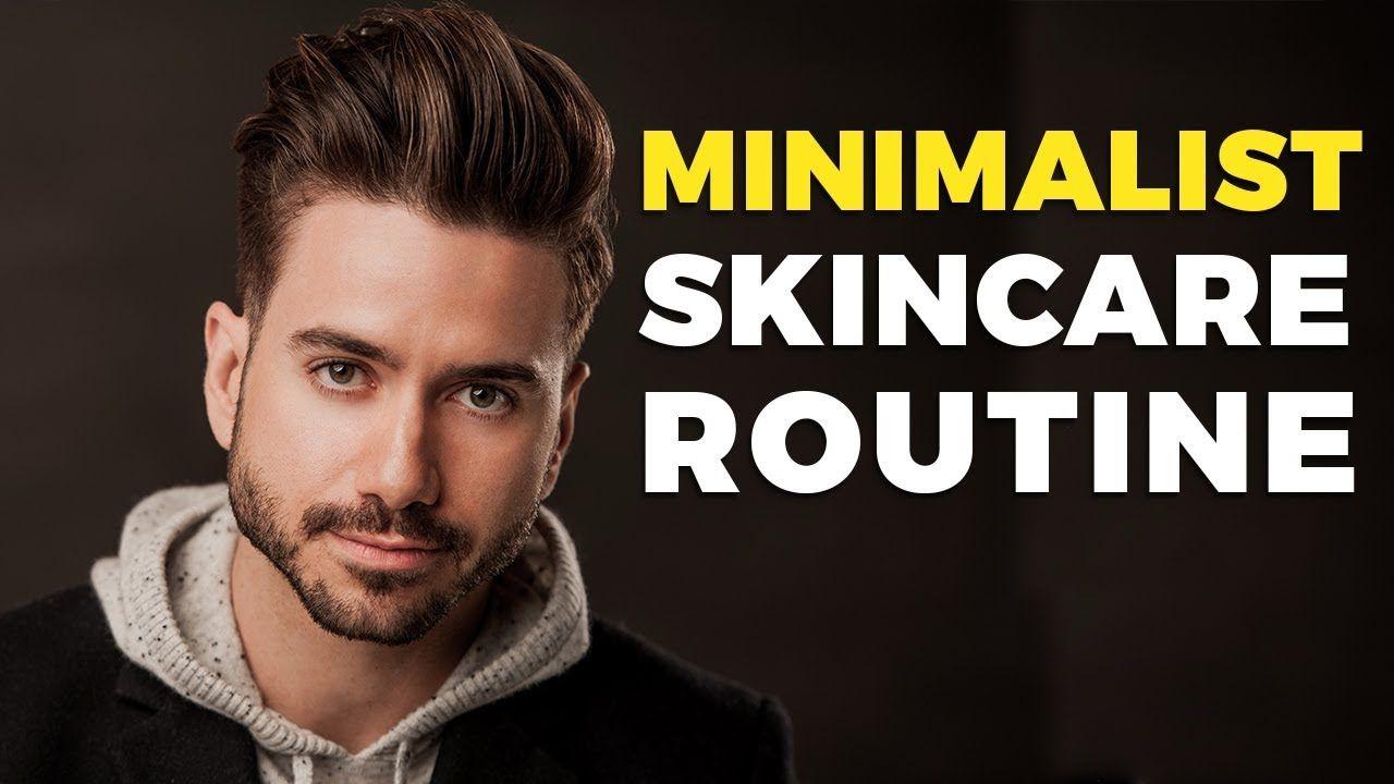 Minimalist Skincare Routine For Men Alex Costa Youtube Men Skin Care Routine Skin Care Routine Mens Skin Care