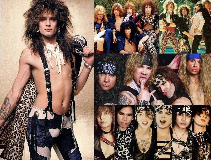 The Evolution Of Glam Rock Fashion Rock Fashion Evolution And Rock