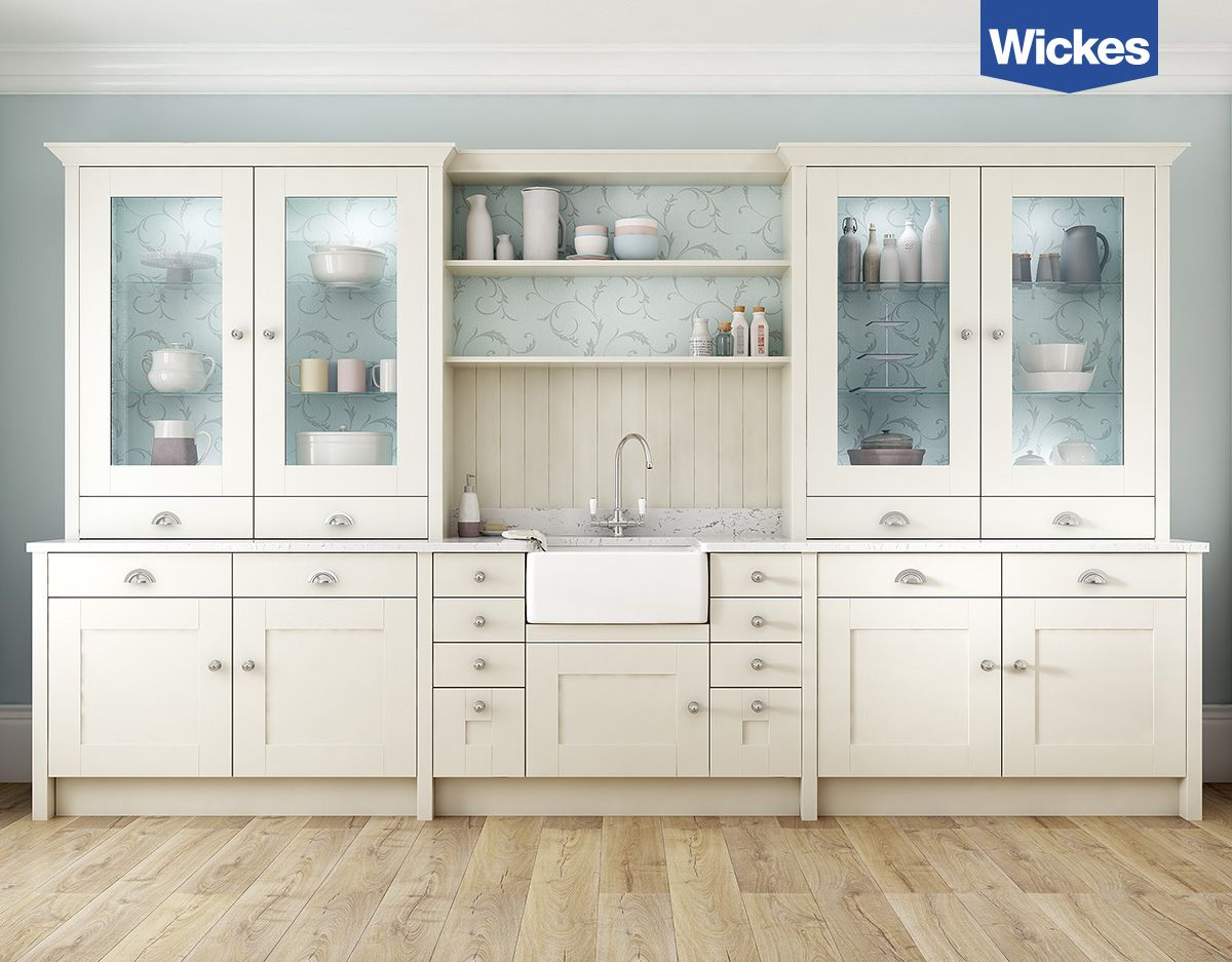 Best Create A Modern Country Kitchen By Combining A Crisp White 400 x 300