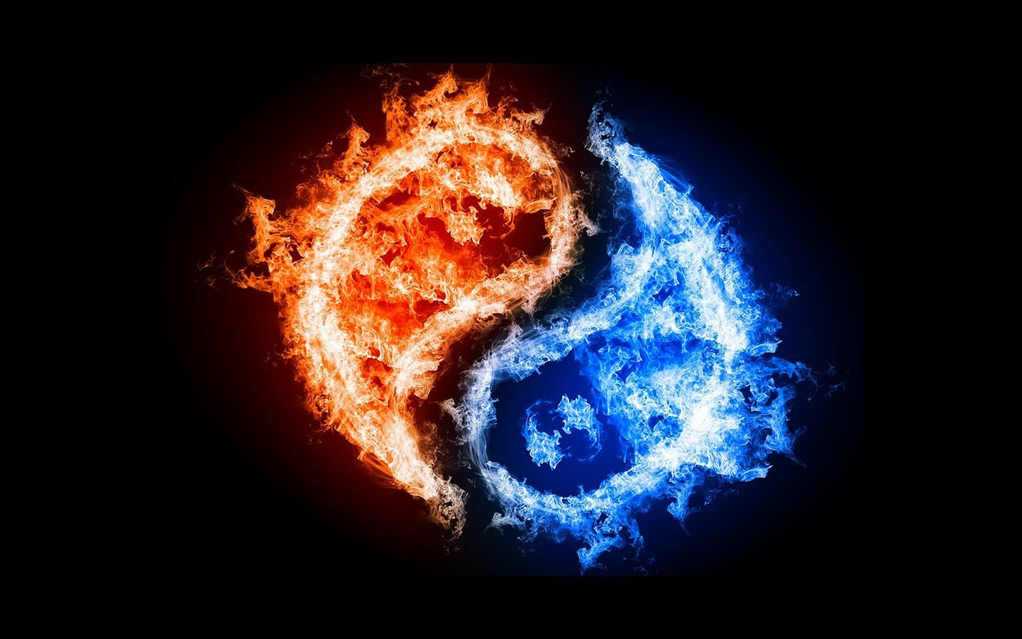 26+ Fire And Ice Yin Yang Wallpaper Pictures