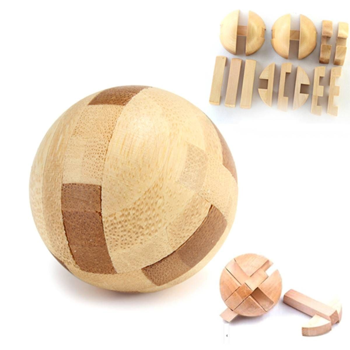 Intelligence Luban Lock Wooden Brain Teaser Puzzle