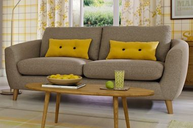 walton retro sofa from next for the home pinterest wohnzimmer. Black Bedroom Furniture Sets. Home Design Ideas
