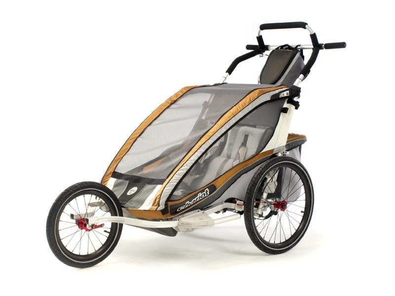 Now Turn Your Cx2 Into A High Performance Jogging Stroller With This Jogging Conversion Kit Provided By Chariot Carrier Thule Chariot Stroller Jogging Stroller