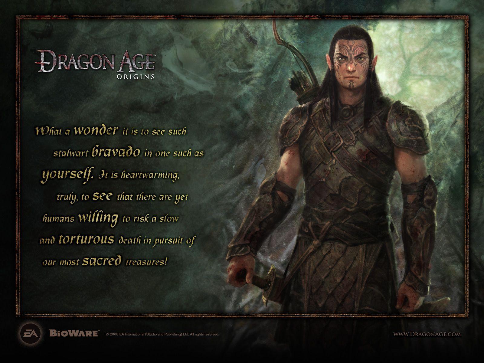 Dragon Age Origins Dalish Elf Origins Age Of Dragons Dragon