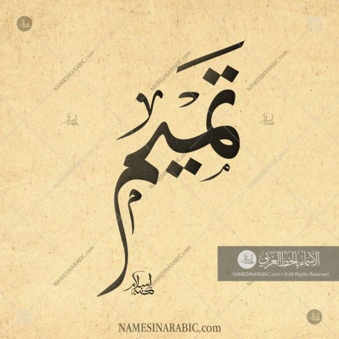 Pin by Sara Mohammed on خط in 2020 | Calligraphy name ...