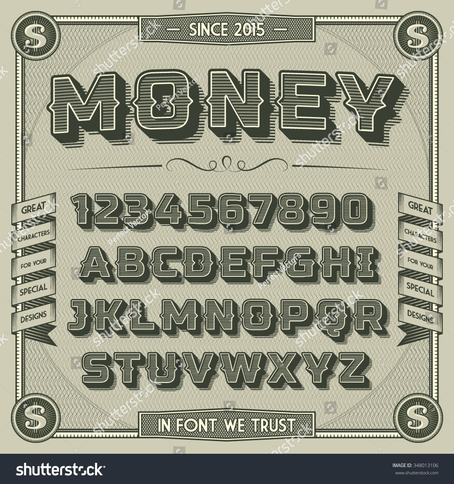 Money Font With Shadow On Pinterest Lettering Fonts Shadow Fonts Lettering Alphabet