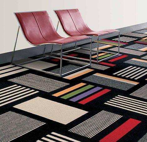 Contemporary Carpet Tiles Modular Decorative Floor Carpet Tile
