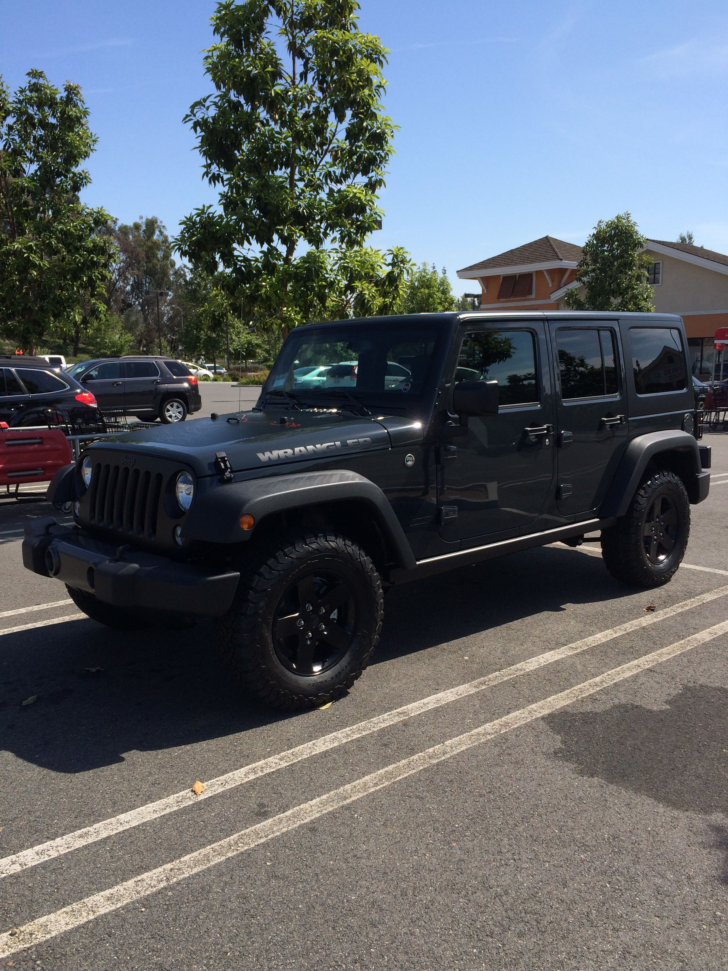 Jeep Big Bear >> My 2017 Jeep Wrangler Big Bear Limited Edition Color Rhino