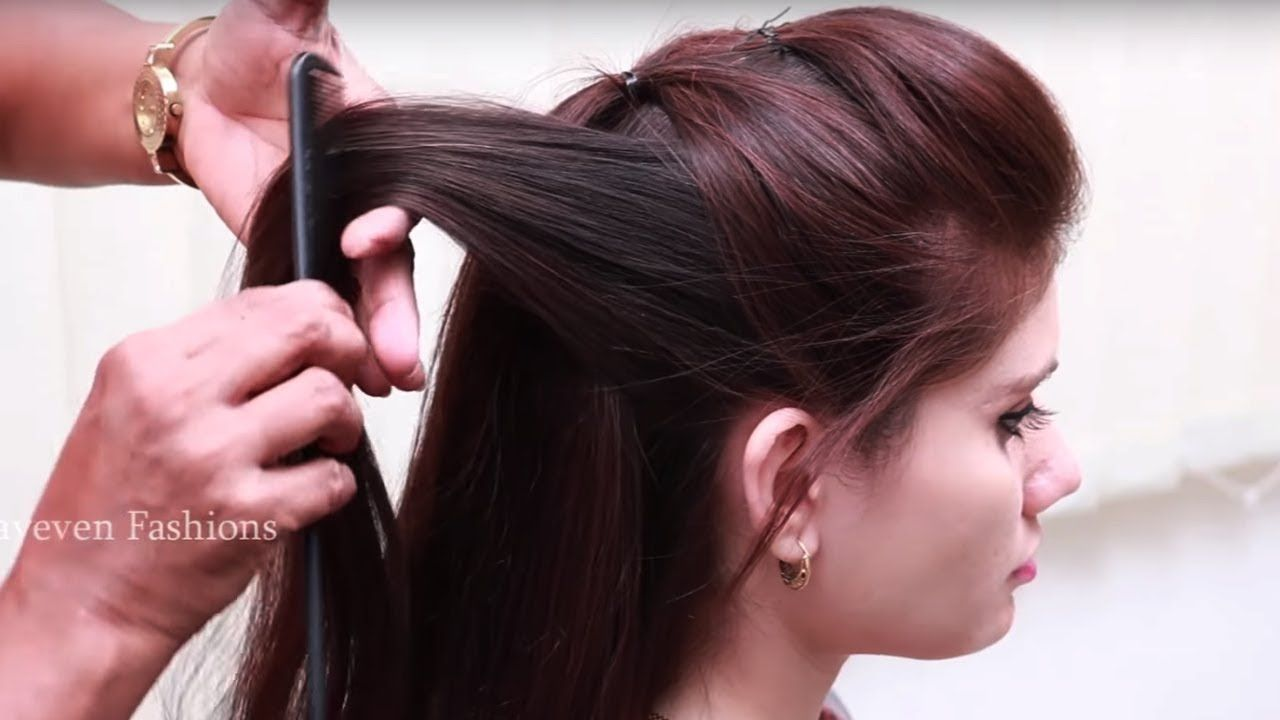 simple and easy beautiful hairstyle for long hair ☆ hairstyle video