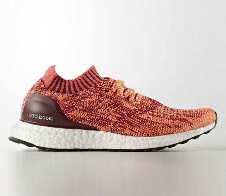 Adidas ultra Boost uncaged solar Rojo / naranja Adidas Pinterest