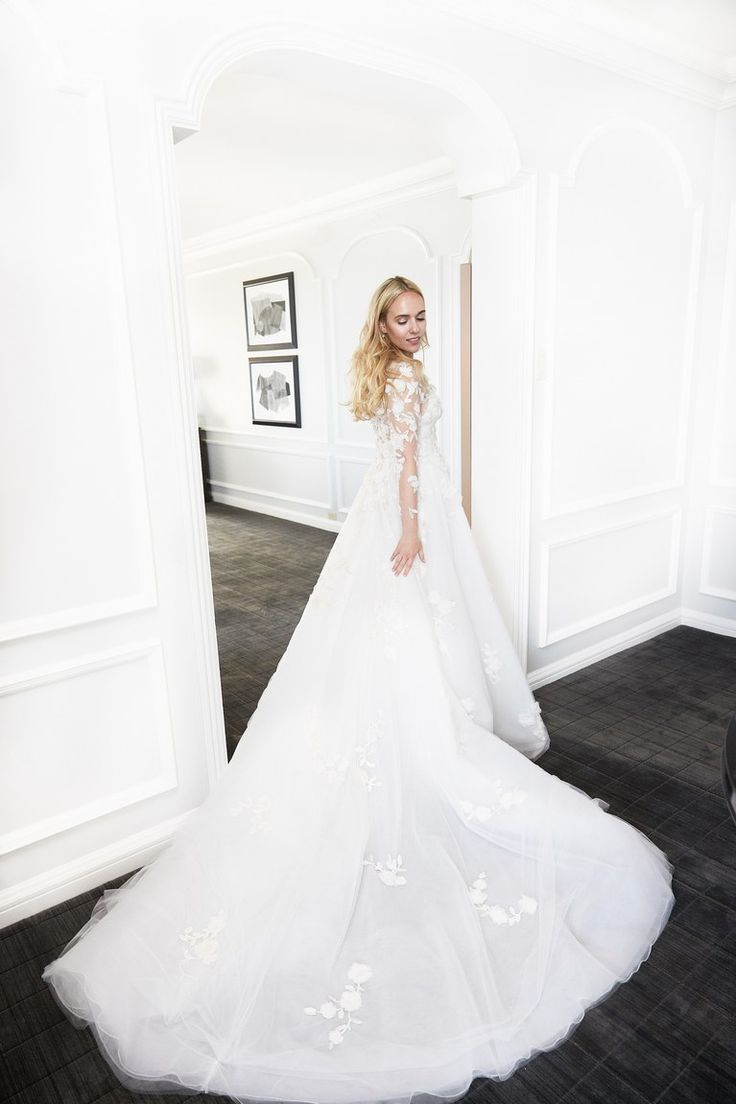 Beautiful Wedding Dresses Inspiration 2017/2018 : Custom Marchesa ...