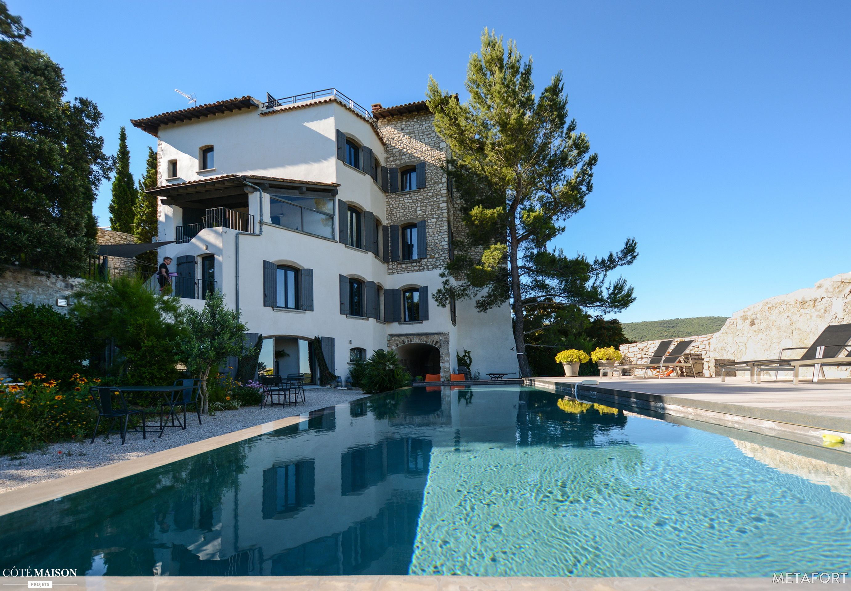 Une sublime maison de vacances avec piscine
