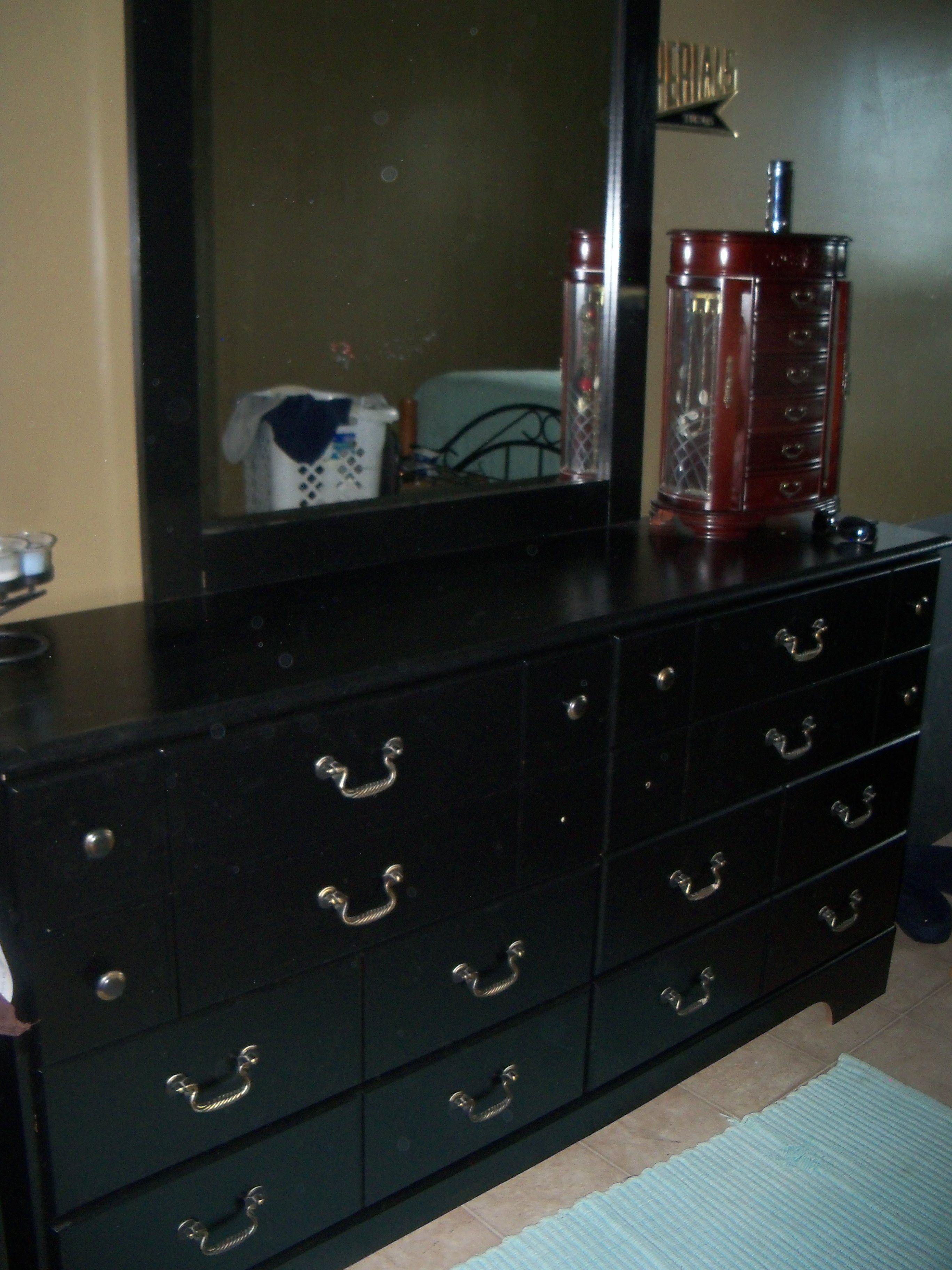 Home Depot black furniture paint Black furniture