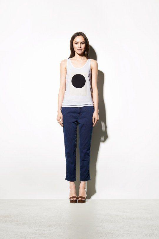 Closed | Jill Tapered-Leg Chino | Shop