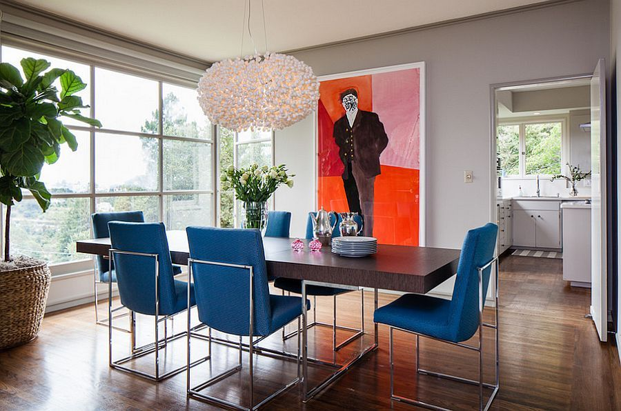 Blue Dining Rooms Exquisite Inspirations Design Tips Room Designs Decorating Ideas Trends