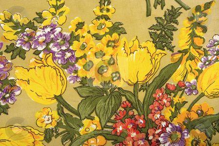 Textura de Flores Coloridas