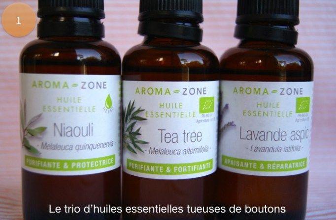 diy anti boutons trio huiles essentielles   Beauté   Pinterest ... 90e43198ad4