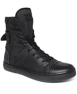 levi high top zip sneakers | Levis